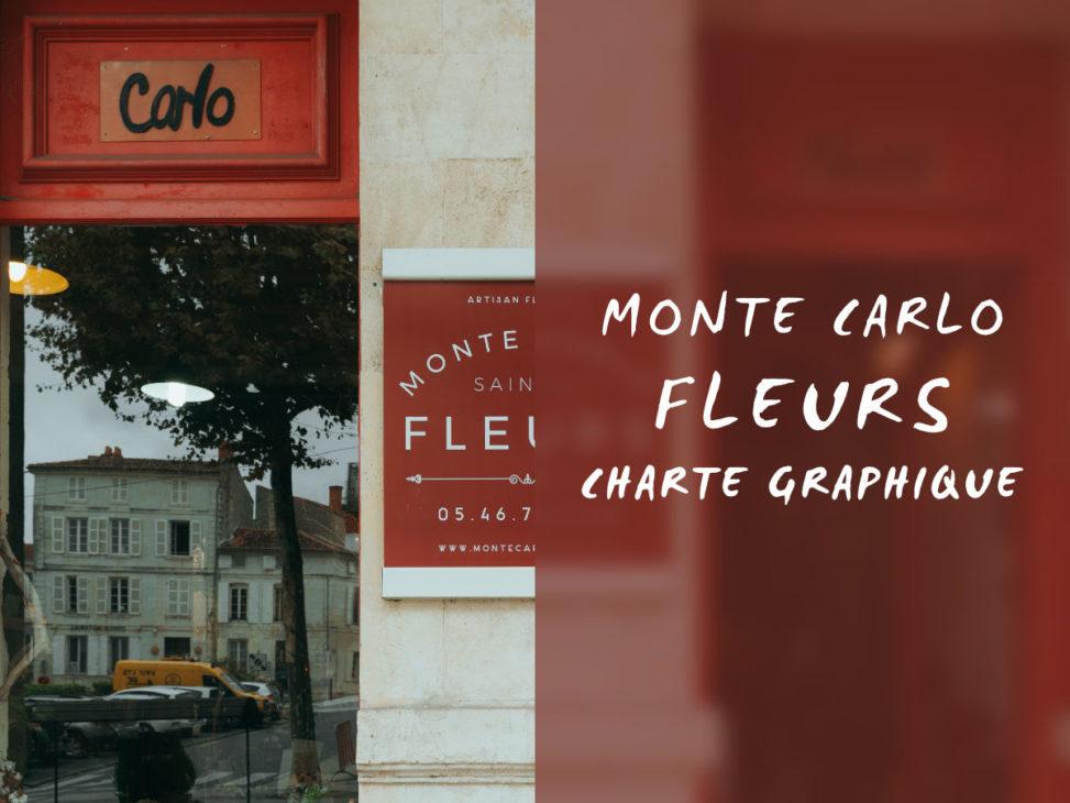Charte graphique du Monte Carlo fleurs