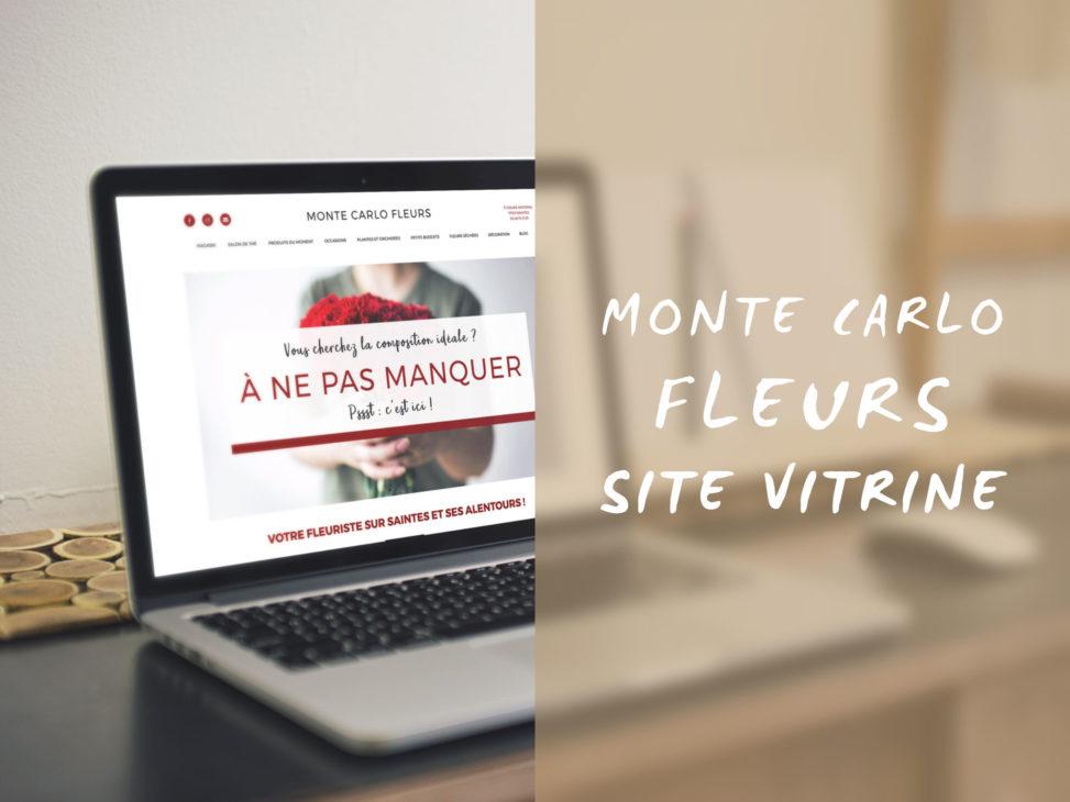 Le site vitrine du Monte Carlo Fleurs